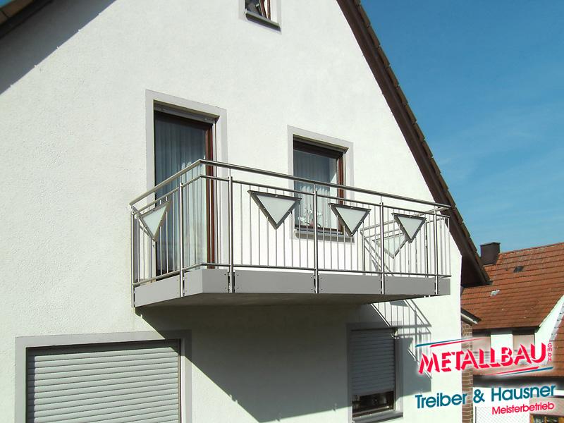 metallbau treiber hausner balkongel nder edelstahl. Black Bedroom Furniture Sets. Home Design Ideas