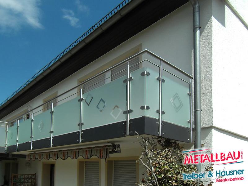 Balkon Gelände metallbau treiber hausner balkongeländer edelstahl stahl